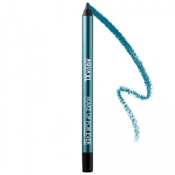 MAKE UP FOREVER Aqua XL Eye Pencil Waterproof I-24 Iridescent Blue with Green