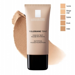 La Roche Posay Toleriane Fondo Maquillaje Mousse Matificante 04 Beige Doré