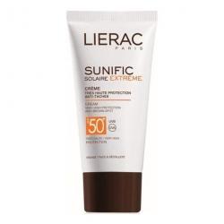 LIREAC Sunific Suncare EXTREME Crema Antimanchas 50+