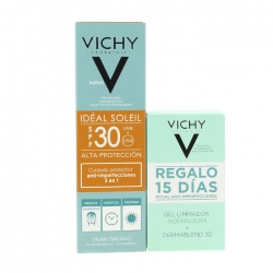 VICHY Cuidado Protector Anti-imperfecciones 3 en 1 SPF 30 50 ml