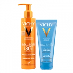 VICHY Vichy Ideal Soleil Leche Fluida Anti-Arena SPF 30+ 200ml + REGALO After Sun 100ml