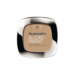 L'Oreal Accord Perfect Polvo fundente D5-W5 Golden Sand