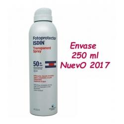ISDIN Fotoprotector 50 Transparent Spray 250 ml