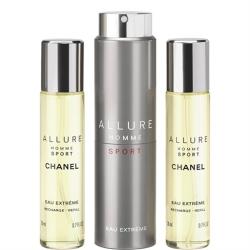 CHANEL Allure Homme SPORT Eau Extreme Vaporizador Refillable 3 X 20 ml