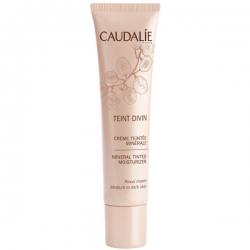 CAUDALIE Teint Divin Crema con Color Mineral Pieles Oscuras 30 ml