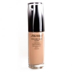 SHISEIDO Synchro Skin Glow Luminizing Fluid Foundation SPF 20 Rose 3 30 ml