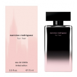 Narciso Rodriguez For Her Eau de Toilette Limited Edition 75 ml