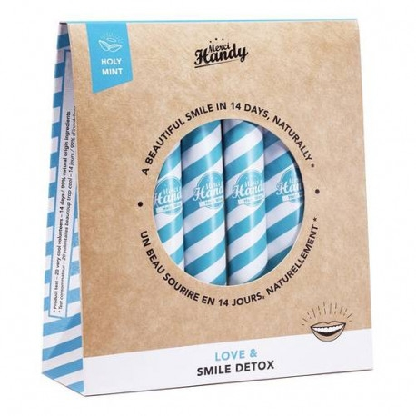 MERCI HANDY Smile Detox Pack Sonrisa Holy Mint 14 días