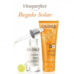 CAUDALIE Pack Sérum Vinoperfect Antimanchas 30 ml+ REGALO Soleil Divine SPF 50 40 ml