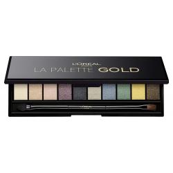 L'Oréal Paris Color Riche La Palette Gold Sombra de Ojos