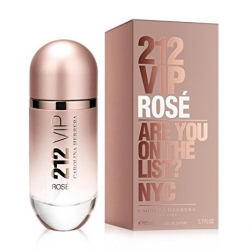 Carolina Herrera 212 VIP Rosé Eau de Parfum Vaporizador 80 ml