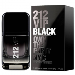 Carolina Herrera 212 VIP BLACK Eau de Parfum Vaporizador 50 ml