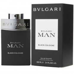 BVLGARI MAN Black Cologne Eau de Toilette Vaporizador 100 ml