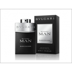 BVLGARI MAN Black Cologne Eau de Toilette Vaporizador 60 ml