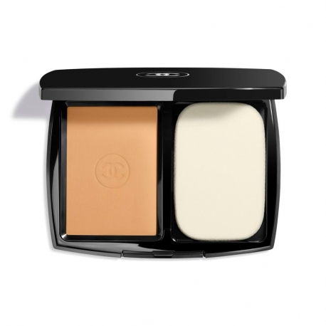 CHANEL Le Teint Ultra Fondo Maquillaje Compacto 91 Caramel