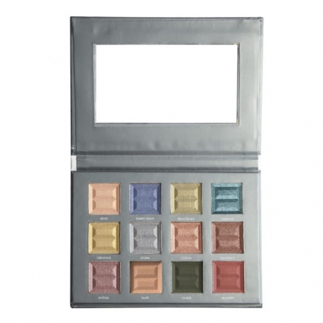 Bellápierre 12 Color Pro Jewel Eye Palette