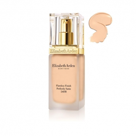 Elizabeth Arden Flawless Finish Perfectly Satin 24HR Makeup SPF 15 01 Alabaster