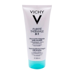 VICHY Pureté Thermale Desmaquillante Integral 3 en 1 Pieles Sensibles 200 ml