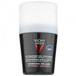 VICHY Homme Desodorante Roll-on Anti Transpirante Efecto Calmante 48 h