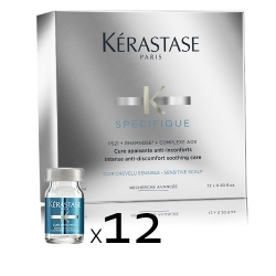 KÉRASTASE Spécifique Cure Apaisante 12 unidades x 6 ml