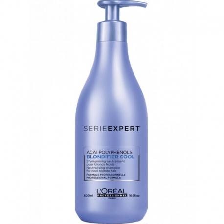 L'Oréal Professionnel SERIEEXPERT BLONDIFIER Cool Champú Neutralizador 500 ml