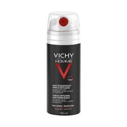 VICHY Homme Desodorante Anti Transpirante Triple Difusión 72 h