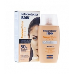 ISDIN Fotoprotector SPF 50 Fusion Water COLOR 50 ml