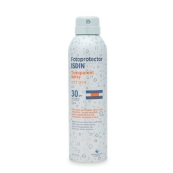 ISDIN Fotoprotector 30 Transparent Spray WET Skin 250 ml