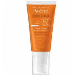 AVÉNE Crema Facial Confort SIN PERFUME Muy Alta Protección SPF 50 + 50 ml