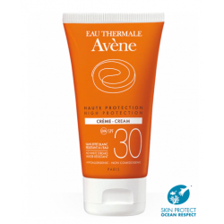 AVÈNE Crema SPF 30 Sin Efecto Blanco 50 ml