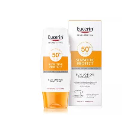 EUCERIN Sun Lotion Extra Light Sensitive Protect FPS 50+ 150 ml
