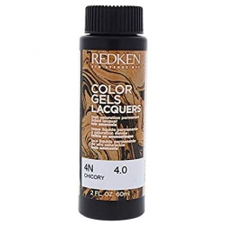 REDKEN Color Gels Lacquers Coloración Permanente Color 4N Chicory 4.0 60 ml