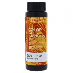 REDKEN Color Gels Lacquers Coloración Permanente Color 5CB Brownstone 5.45 60 ml