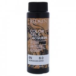 REDKEN Color Gels Lacquers Coloración Permanente Color 6N Moroccan Sand 6.0 60 ml