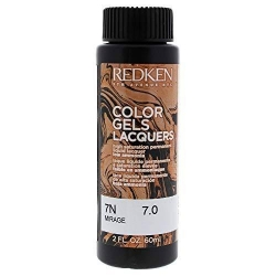 REDKEN Color Gels Lacquers Coloración Permanente Color 7N Mirage 7.0 60 ml
