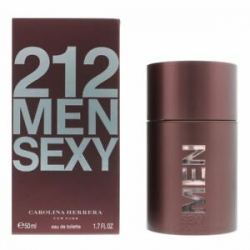 Carolina Herrera 212 MEN SEXY Eau de Toilette Vaporizador 50 ml