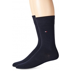 Pack 2 pares calcetines Tommy Hilfiger Hombre Azul Marino Talla 39/42
