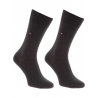 Pack 2 pares calcetines Tommy Hilfiger Hombre Kensington Brown Talla 39/42
