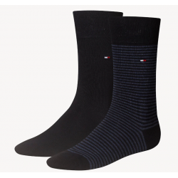 Pack 2 pares calcetines Combinados Tommy Hilfiger Hombre Azul Marino Talla 39/42