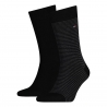 Pack 2 pares calcetines Combinados Tommy Hilfiger Hombre Negro Talla 43/46