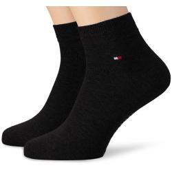 Pack 2 pares calcetines Cortos Tommy Hilfiger Hombre Negro Talla 39/42