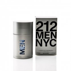 Carolina Herrera 212 MEN NYC Eau de Toilette Vapo. 50 ml