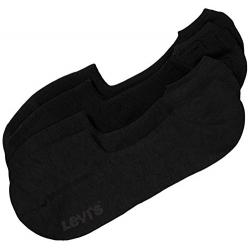 Levi's® Pack de 2 pares de Calcetines Invisibles Negros Talla 39/42