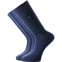 Pack 2 pares calcetines Tommy Hilfiger Hombre Azul Jean Talla 39/42