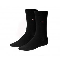 Pack 2 pares calcetines Tommy Hilfiger Hombre Negro Talla 39/42