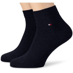 Pack 2 pares calcetines Cortos Tommy Hilfiger Hombre Azul Marino Talla 39/42