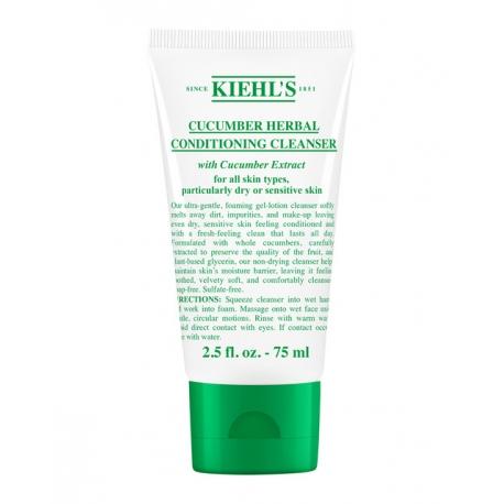 Kiehl's Cucumber Herbal Conditioning Cleanser 75 ml