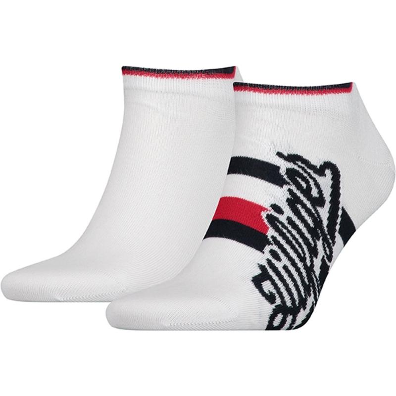 Calcetines cortos para hombre 6 pares negro o blanco Tommy Hilfiger