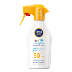 NIVEA Sun Kids SENSITIVE Protege y Juega Spray Solar Niños SPF 50+ 300 ml