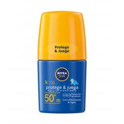 NIVEA Sun Kids Protege y juega Roll On SPF 50 + 50 ml